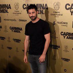 Hugo Silva en el estreno de 'Carmina y amén' en Madrid
