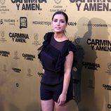 Inma Cuesta en el estreno de 'Carmina y amén' en Madrid