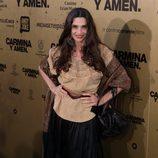 Ángela Molina en el estreno de 'Carmina y amén' en Madrid