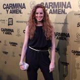 María Castro en el estreno de 'Carmina y amén' en Madrid
