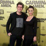 Natalia Verbeke y Jaime Renedo en el estreno de 'Carmina y amén' en Madrid