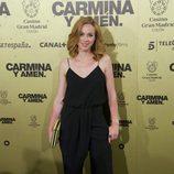 Marta Hazas en el estreno de 'Carmina y amén' en Madrid