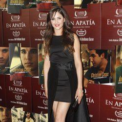 Lucía Ramos en el estreno de 'En apatía, secuelas del odio'