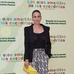 Alba García en el estreno de 'Los ojos amarillos de los cocodrilos' en Madrid