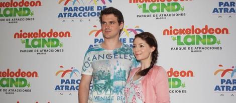 Gonzalo Ramos y Sofía Escobar reaparecen en público tras estrenarse como padres