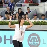 Cristina Pedroche en el Charity Day del Open de Madrid 2014