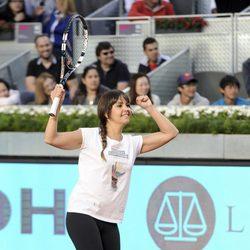 Cristina Pedroche en el Charity Day del Open de Madrid 2014
