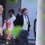 El Príncipe Harry de Inglaterra en la boda de Guy Pelly y Lizzy Wilson en Memphis