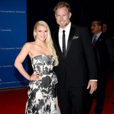 Jessica Simpson y Eric Johnson en la Cena de Corresponsales de la Casa Blanca 2014