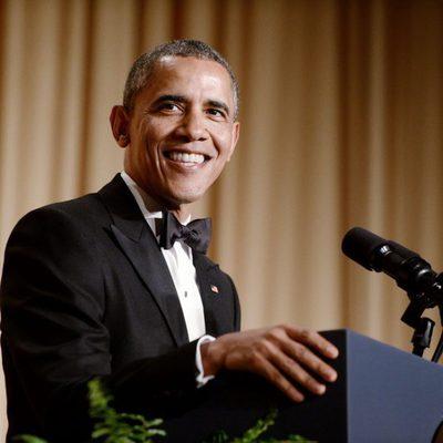Barack Obama en la Cena de Corresponsales de la Casa Blanca 2014