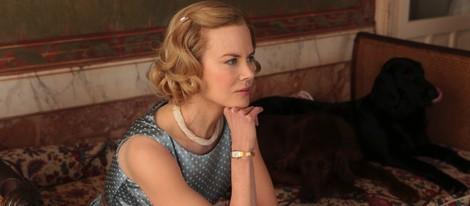 Nicole Kidman dubitativa en un fotograma de 'Grace of Mónaco'