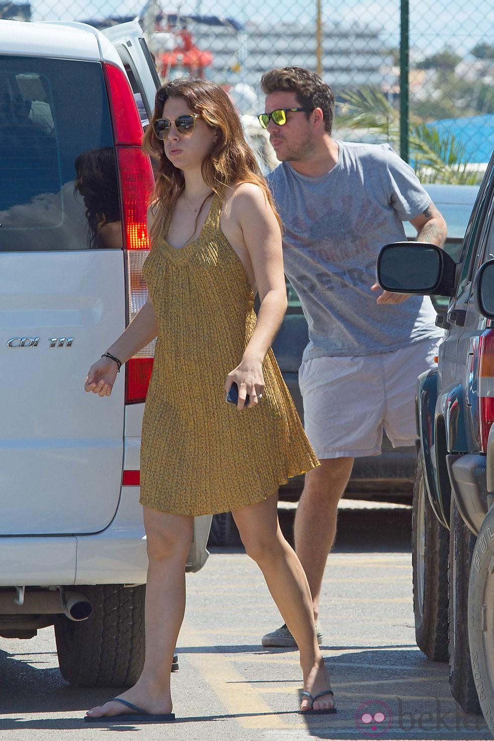 Blanca Suárez y Dani Martín en sus primeras vacaciones como pareja en Ibiza