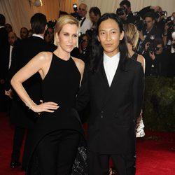 Kristen Wiig y Alexander Wang en la Gala MET 2014