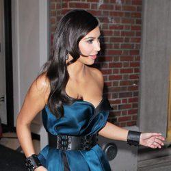 Kim Kardashian deja al descubierto su ropa interior cuando acudía a la Gala MET 2014