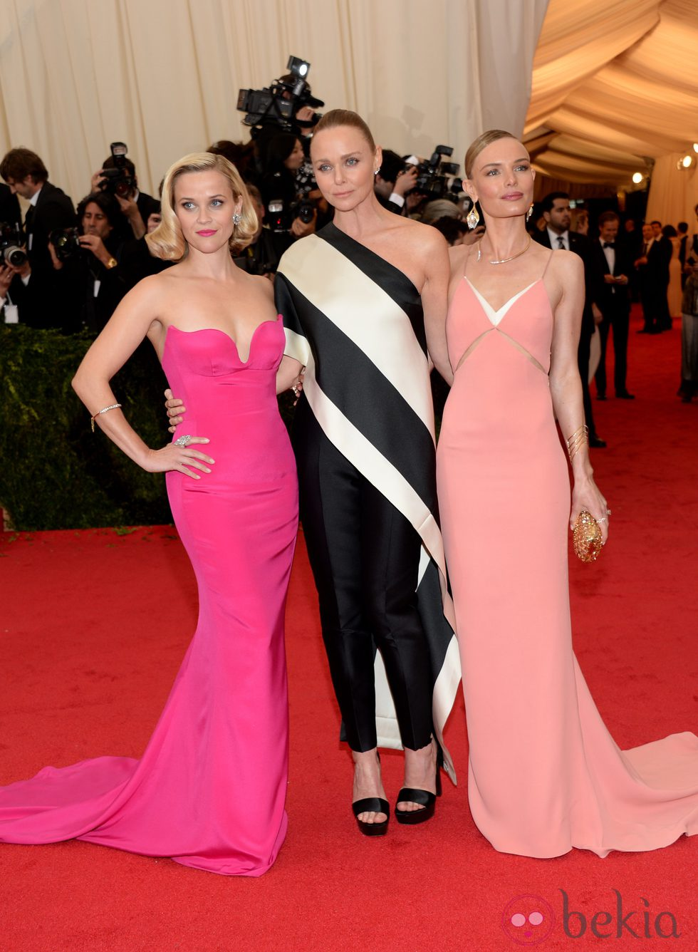 Reese Whiterspoon, Stella McCartney y Kate Bosworth en la Gala MET 2014