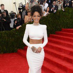 Rihanna en la Gala MET 2014
