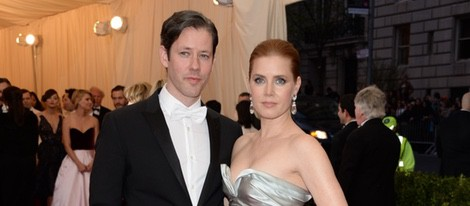 Amy Adams y Darren Le Gallo en la Gala MET 2014