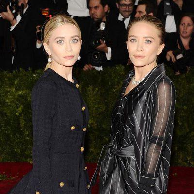 Mary-Kate Olsen y Ashley Olsen en la Gala MET 2014