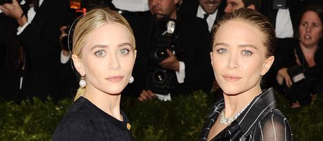 Mary-Kate Olsen y Ashley Olsen en la Gala MET 2014