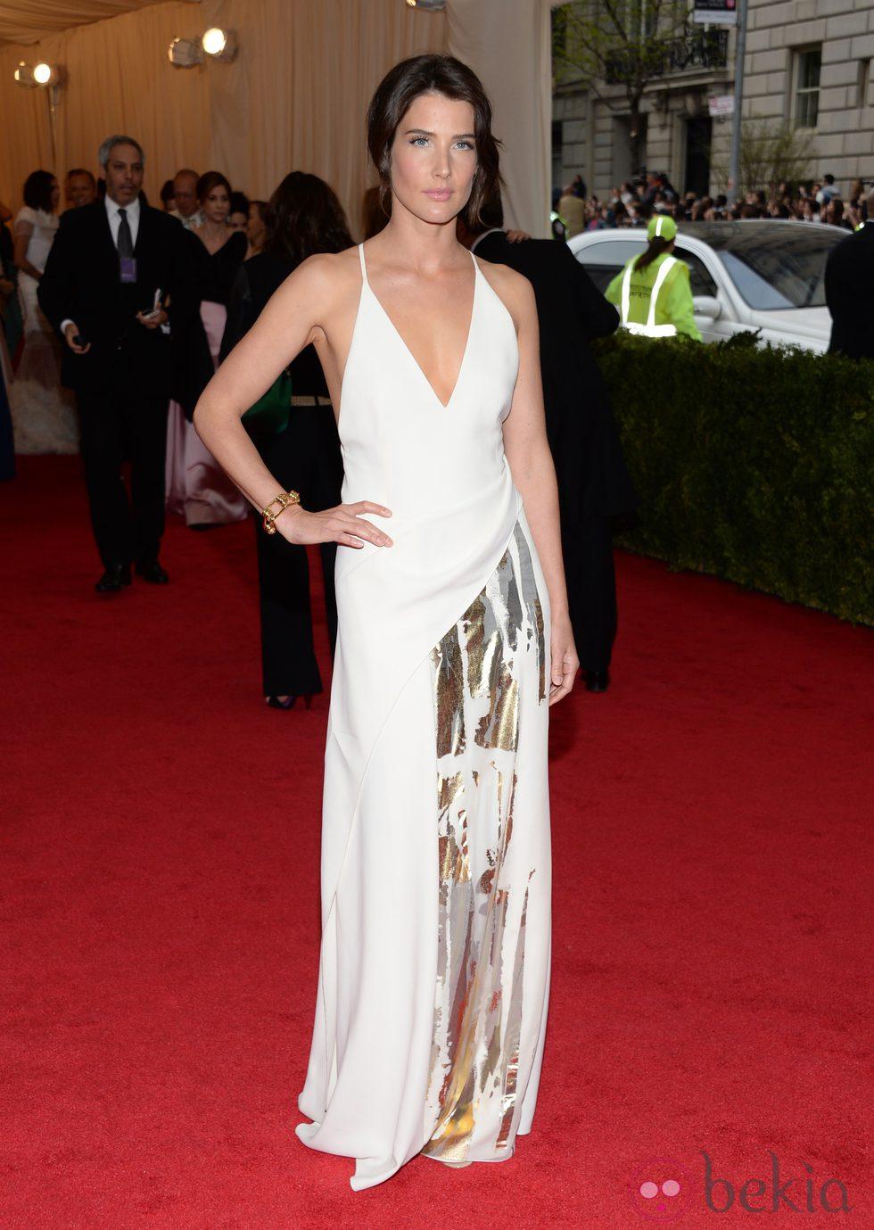 Cobie Smulders en la Gala MET 2014