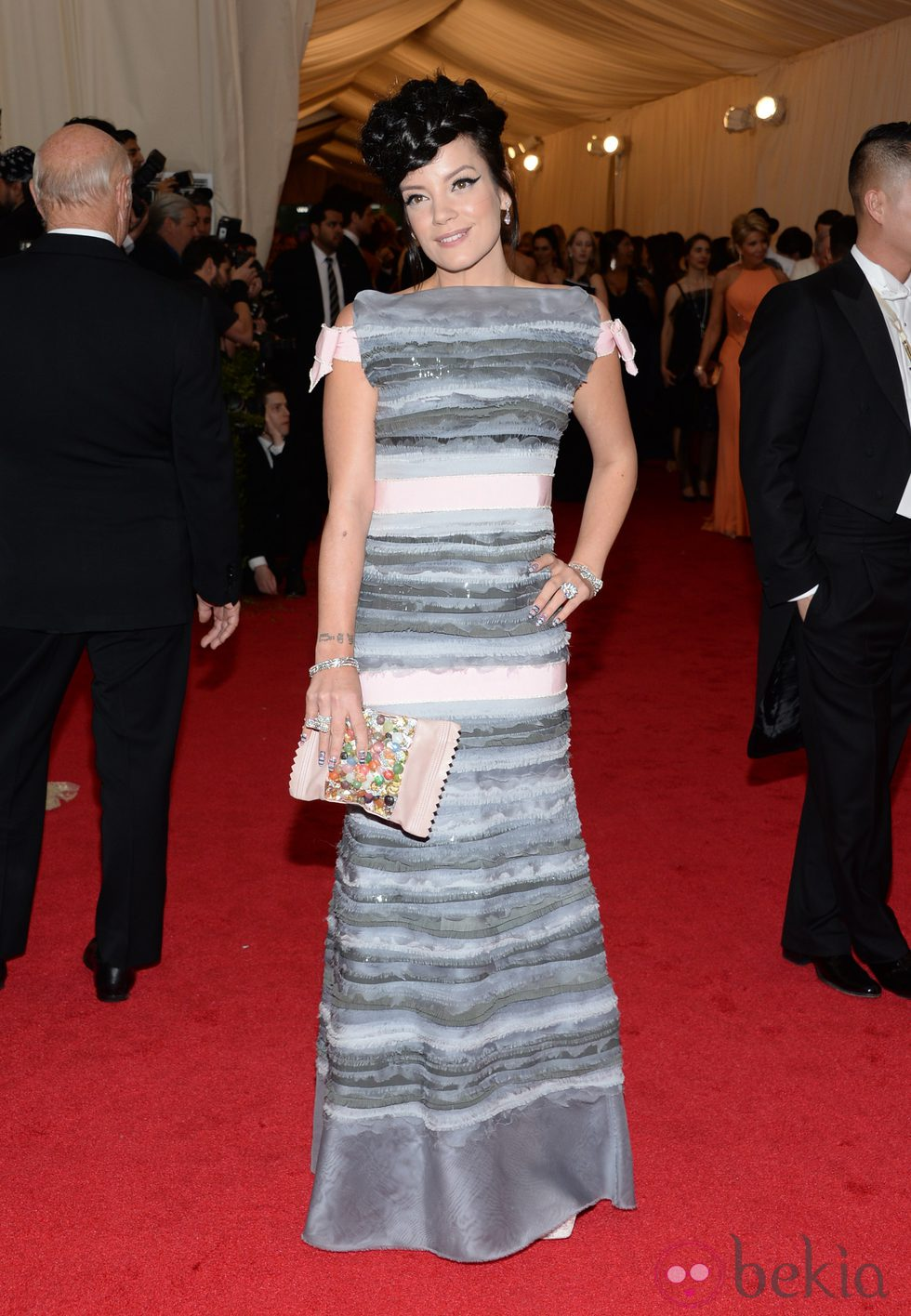 Lily Allen en la Gala MET 2014