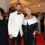 Hugh Jackman y Deborra-Lee Furness en la Gala MET 2014
