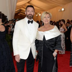 Hugh Jackman y Deborra-Lee Furness en la Gala MET 2014