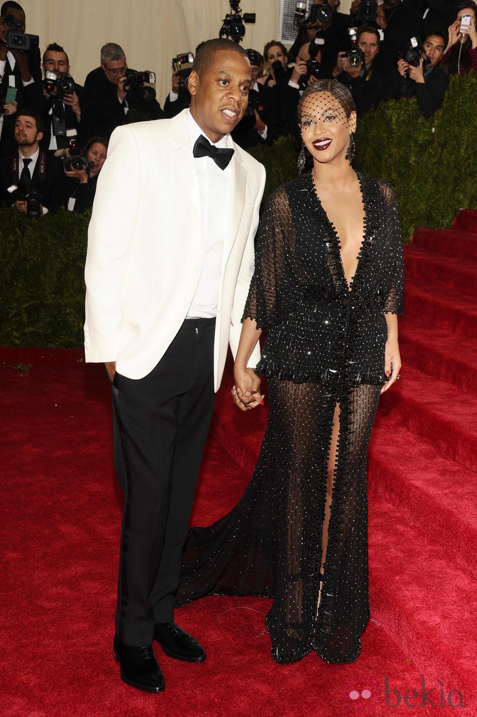 Jay Z y Beyoncé en la Gala MET 2014