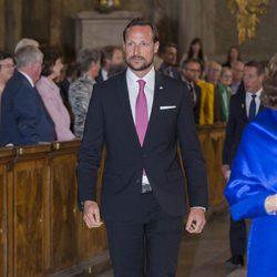 El Príncipe Haakon en la celebración del 200 aniversario de la Constitución de Noruega
