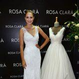 Alba Carrillo en la presentación de la nueva colección de Rosa Clará en Barcelona
