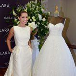 Gabriella Lenzi en la presentación de la nueva colección de Rosa Clará en Barcelona