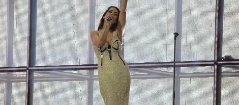 Ruth Lorenzo desvela el vestido que lucirá en Eurovisión 2014 durante el segundo ensayo