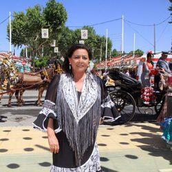 María del Monte en la Feria de Sevilla 2014