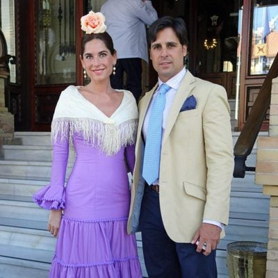 Fran Rivera y Lourdes Montes en la Feria de Sevilla 2014