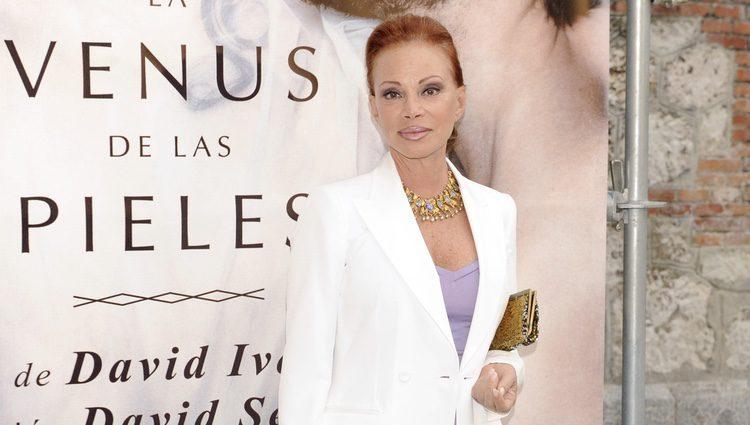 Paloma San Basilio en el estreno de 'La venus de las pieles'