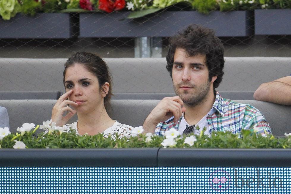 Elena Furiase y Javier Suárez en el Open Madrid 2014