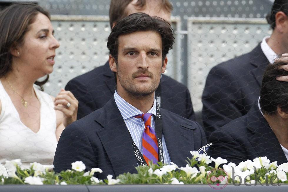 Rafa Medina en el Open Madrid 2014
