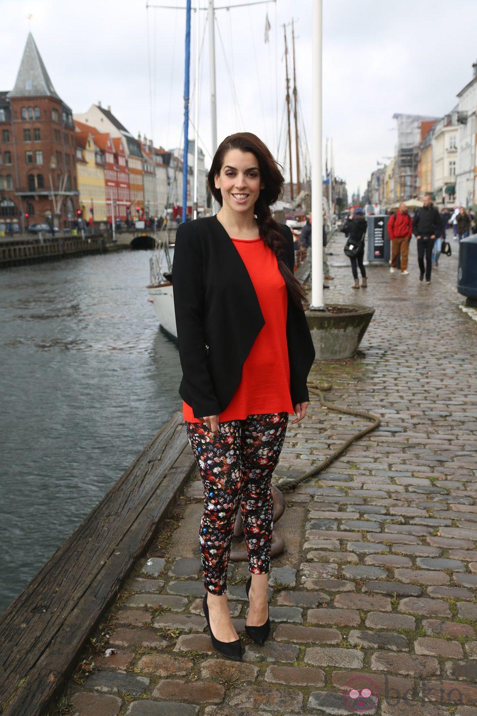 Ruth Lorenzo posa en el Nyhavn de Copenhague