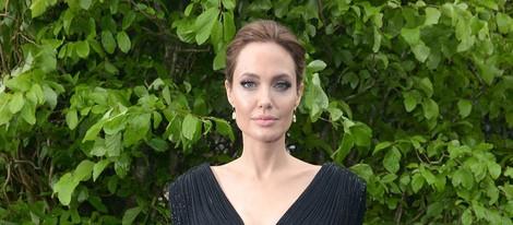 Angelina Jolie en la premiere de 'Maléfica' en Londres