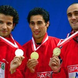 Yago Lamela, Raul Fernandez y Petar Datchev