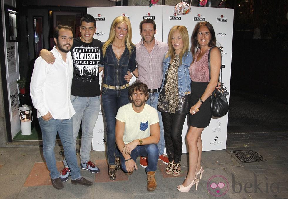 Algunos participantes de '¡Mira quién salta!' celebran el éxito del estreno de la segunda temporada