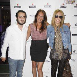 Aaron Guerrero, Ángela Portero y Belén Rodríguez celebran el éxito del estreno de la segunda temporada de '¡Mira quién salta!'