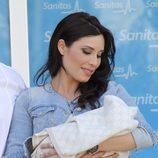 Pilar Rubio mira embelesada a su hijo Sergio