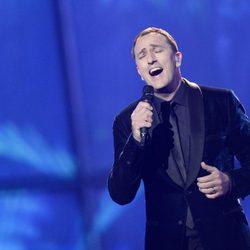 Sergej Cetkovic durante su actuación en el Festival de Eurovisión 2014