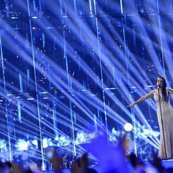 Ruth Lorenzo durante su actuación en el Festival de Eurovisión 2014