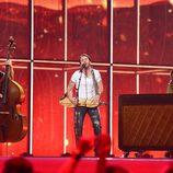 Firelight durante su actuación en el Festival de Eurovisión 2014
