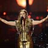 Molly durante su actuación en el Festival de Eurovisión 2014