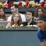 Marta Hazas y Javier Veiga en la final del Madrid Open 2014