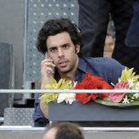 Alonso Aznar Botella en la final del Madrid Open 2014