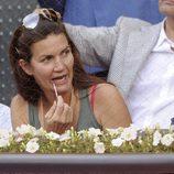 Samantha Vallejo-Nágera en la final del Madrid Open 2014